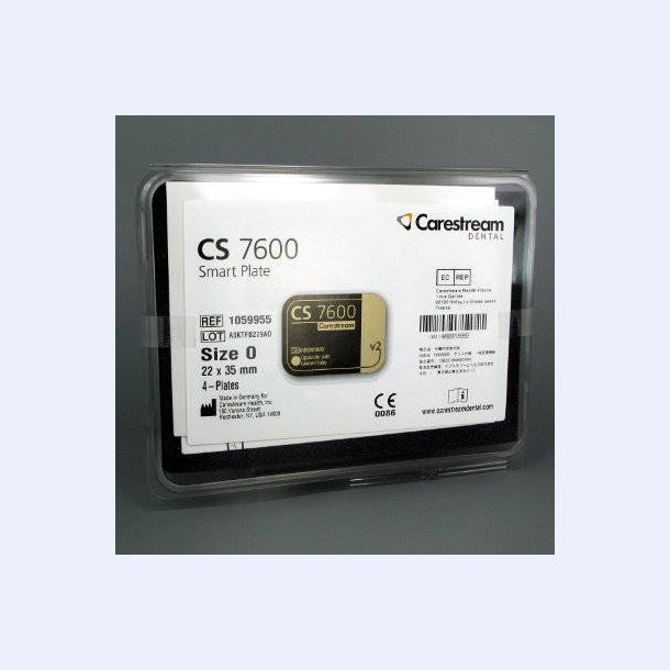 Carestream smartplate #0 æske m. 4 stk