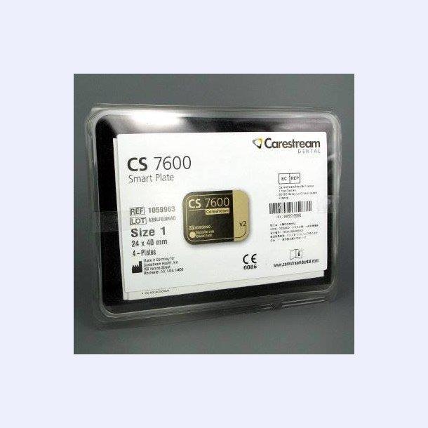 Carestream smartplate #1 æske m. 4 stk