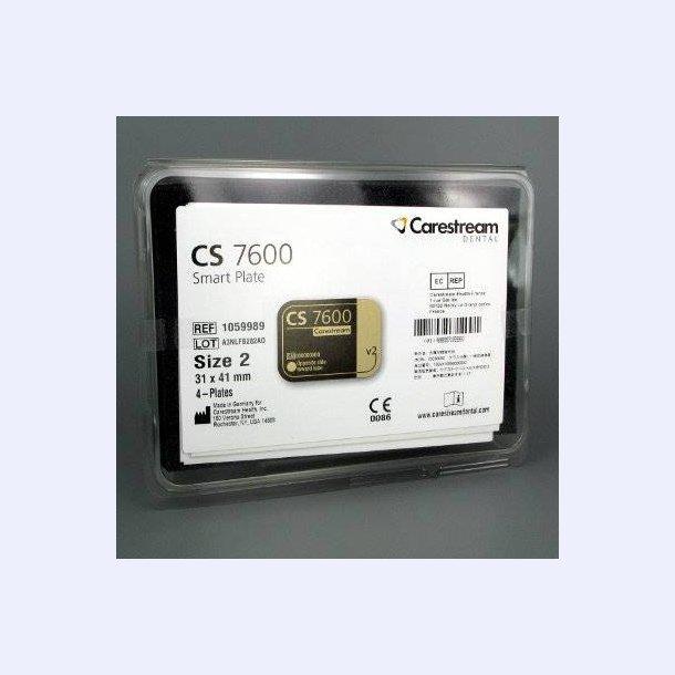 Carestream smartplate #2 æske m. 4 stk