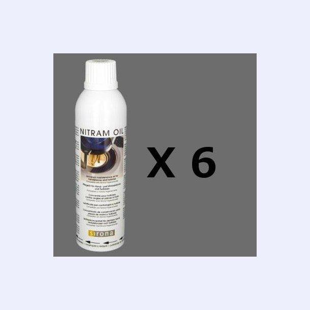 Dac olie hvid label, kasse m.6 stk.