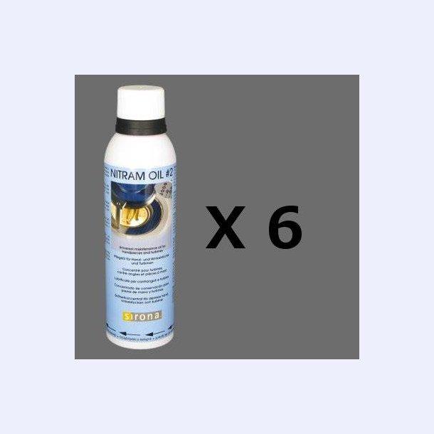Dac olie blå label, kasse m.6 stk.